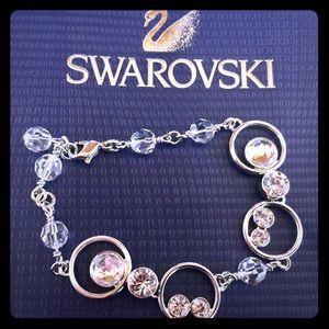 Silver Swarovski bracelet